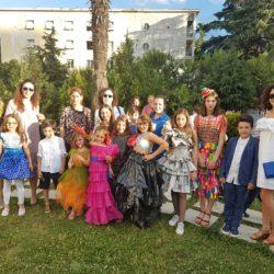 Eco Fashion Show students