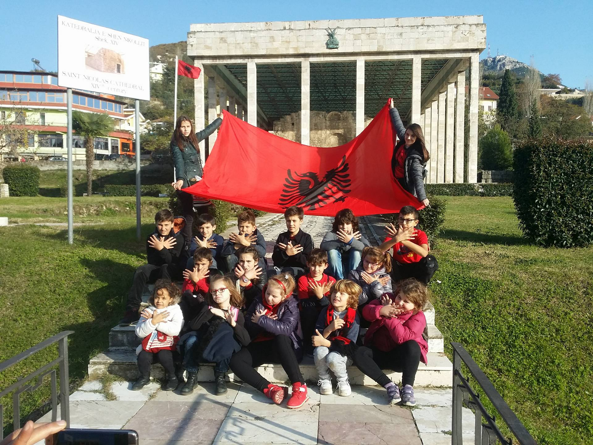 Visiting Lezha for the Albanian Independence Day