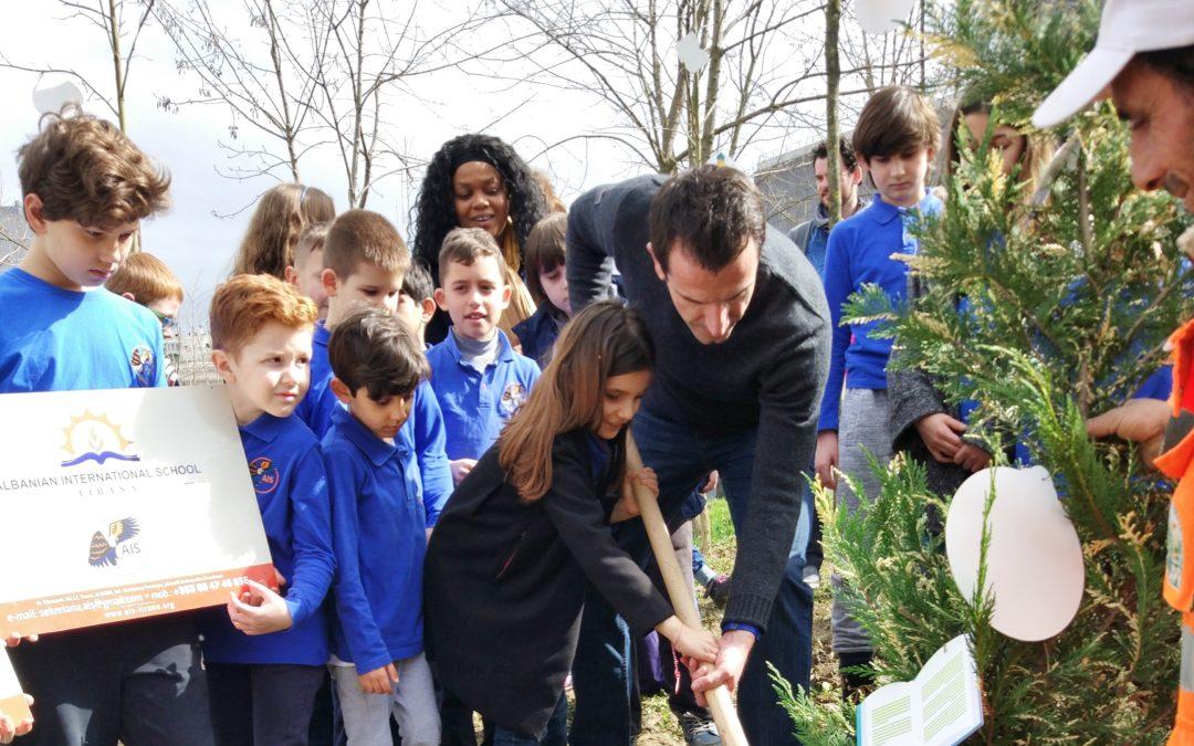 Plant a Tree with Mayor Erion Veliaj
