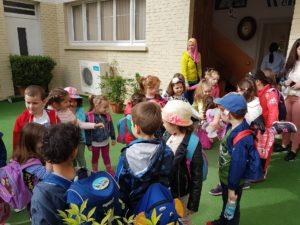 AIS preschool and kg students