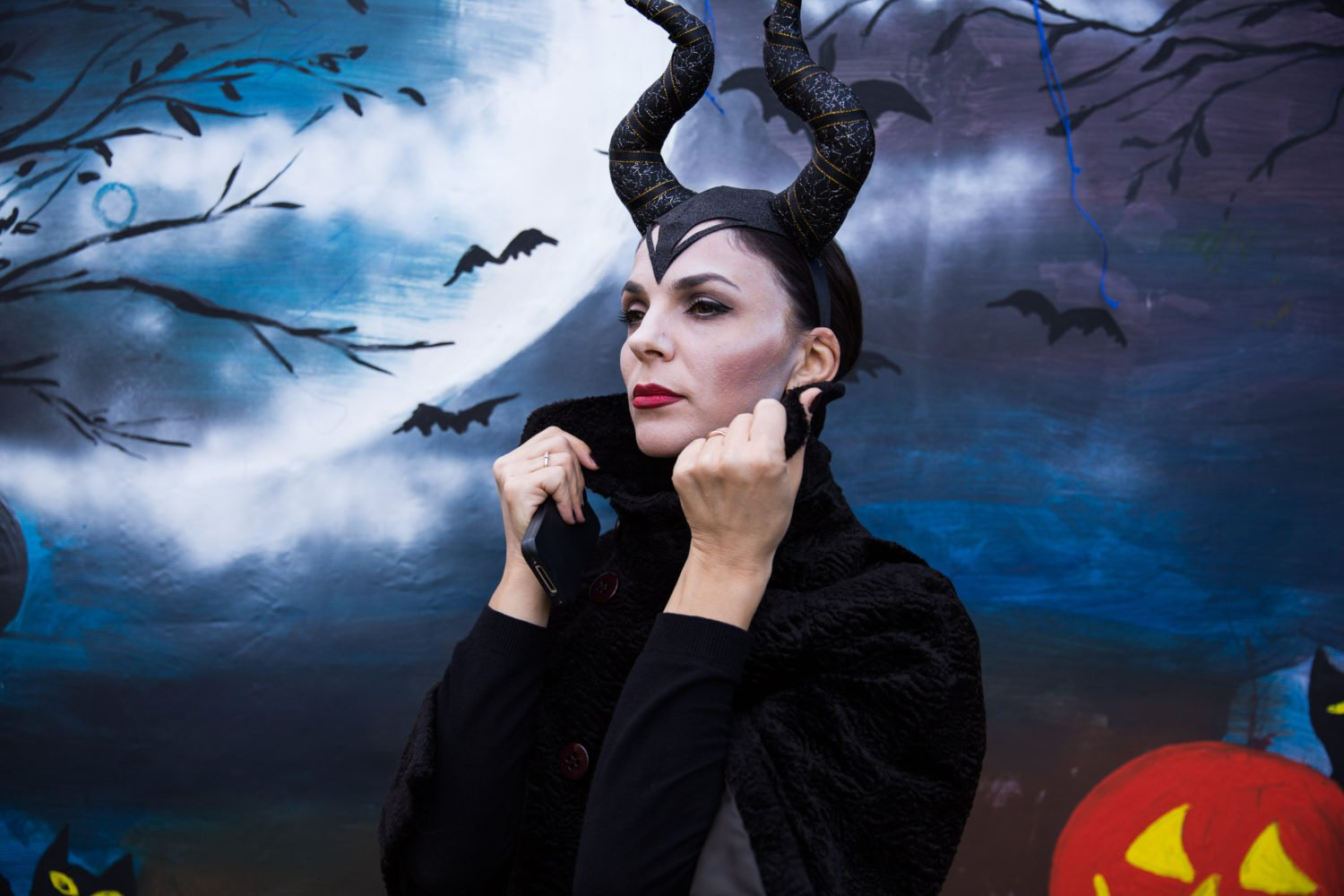 Mrs. Juli as Maleficent