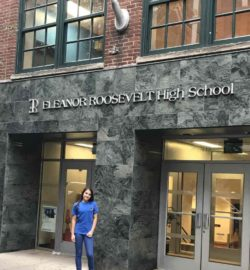 Sibora at school in NYC