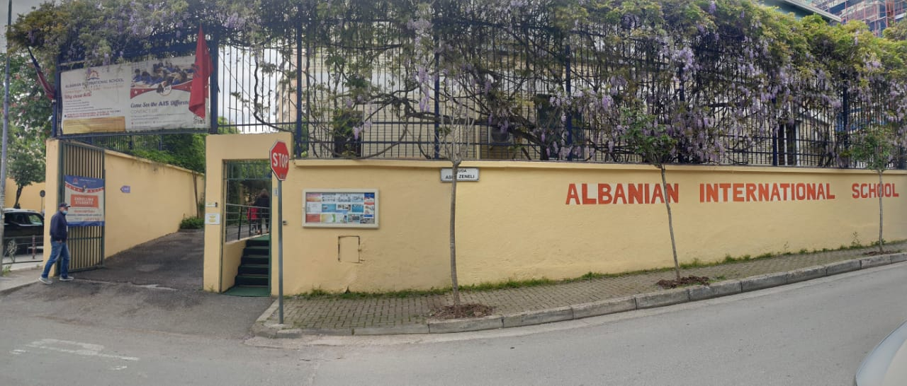 Albanian International School location